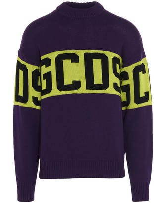GCDS Logo Tape Sweater