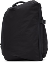 Côte and Ciel Black Small Isar Memory Tech Backpack