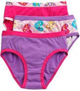 Hanes 3-pk. patterned brief panties - girls