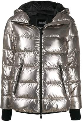 Herno zipped puffer jacket