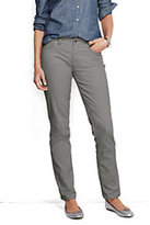 Classic Women's Pre-hemmed Mid Rise Straight Leg Corduroy Pants-French Walnut