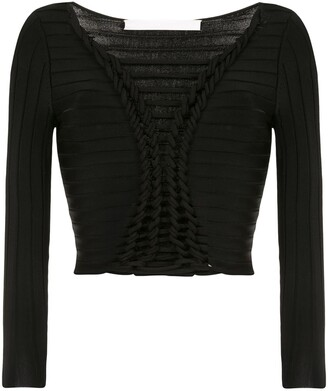 Dion Lee Open Knit Detail Top