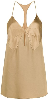 No.21 Bow Detail Sleeveless Top