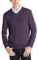 Calvin Klein Men's Merino V-Neck Sweater