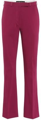 Etro Stretch cotton mid-rise slim pants