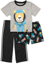 Carter's Baby Set, Baby Boys 3 Piece Hippo Police Officer Pajamas
