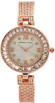 Adrienne Vittadini AD11812 Rose Gold-Tone Watch