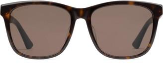 Gucci Specialized fit square sunglasses