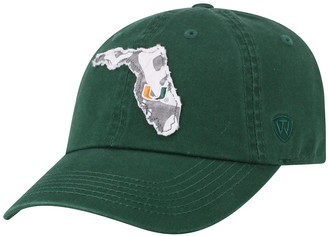 Top of the World Adult Miami Hurricanes Slove Cap
