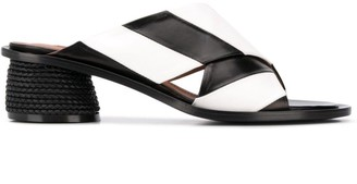 Sartore striped sandals