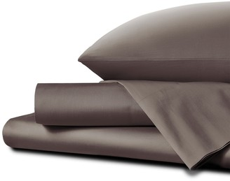 Homestead UK Super King Percale Sheet Set Driftwood