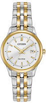 Citizen Eco-Drive Ladies' Two Tone Watch Ew2404-57A