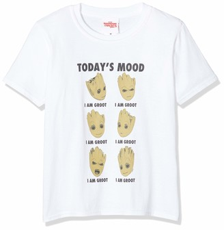 Marvel Boy's Guardians of The Galaxy Vol 2 Groot Today's Mood T-Shirt