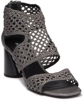 Donald J Pliner Herra Woven Leather Sandal