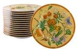 Hermes 15-Piece La Siesta Dessert Plates