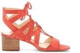 Sole Society Fauna Cutout Block Heel Sandal