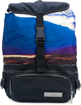 adidas by Stella McCartney sunset scene backpack