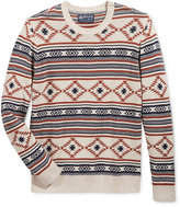 American Rag Men's Chalet Geo Sweater, Only at Macy's