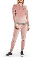 Topshop Women's Velour Maternity Lounge Pants