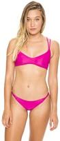 Frankie's Bikinis Kaia Top in Raspberry