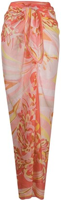 Emilio Pucci Abstract-Print Cover-Up
