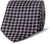 Dunhill 8.5cm Mulberry Silk-jacquard Tie