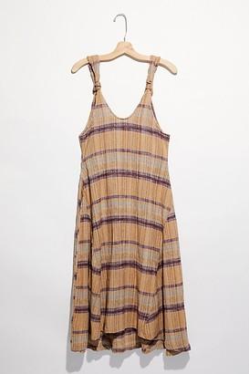Free People Harper Striped Midi Dress