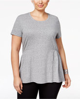 Style&Co. Style & Co. Plus Size Peplum Top, Only at Macy's