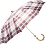 London Undercover Maclean Tartan Whangee Umbrella