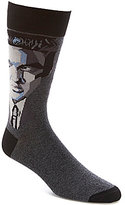 Bugatchi Mercerized Elvis Mid-Calf Socks