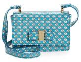 Salvatore Ferragamo Girl's Mini Vara Ginny Shoulder Bag - Blue
