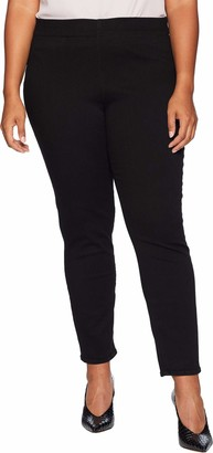NYDJ Women's Plus Size Pull ON Skinny Ankle Jean