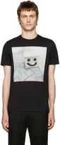 Paul Smith Black Happy Face Box T-Shirt