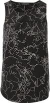 Rag & Bone Patricia printed silk-crepe top