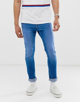 New Look skinny jeans in blue wash