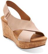 Clarks Caslynn Shae Wedge Sandals