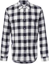 Maison Margiela classic checked shirt - men - Cotton/Polyamide/Polyester - 39