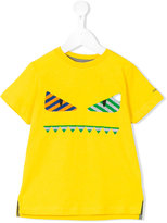 Fendi monster print T-shirt - kids - Cotton - 6 yrs