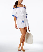 Becca Crochet-Trim Tunic Cover-Up