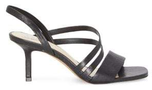 Vince Camuto Savesha Leather Slingback Sandals