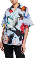 Prada Beauty Flower Hawaiian Shirt
