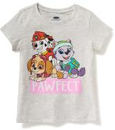 "Old Navy Paw Patrol ""Pawfect"" Tee for Toddler Girls"
