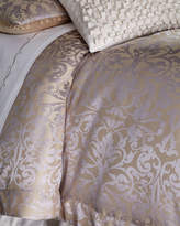 Horchow Lili Alessandra Queen Jackie Jacquard Duvet Cover