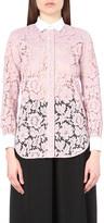 Valentino Cowboy floral-lace shirt