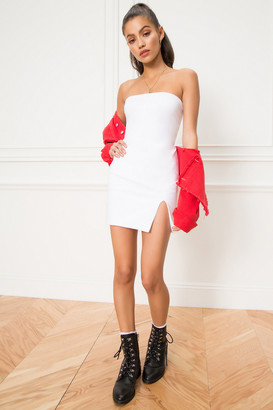 by the way. Kiera Strapless Dress