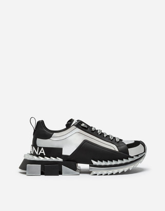 Dolce & Gabbana Two-Tone Super King Sneakers