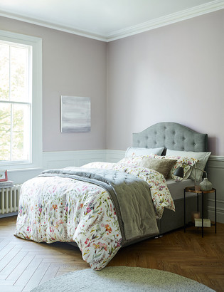 Marks and Spencer Watercolour Floral Print Cotton Sateen Bedding Set