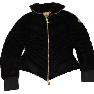 Pyrenex Black Velvet Coat for Women