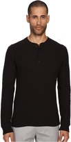 Billy Reid Long Sleeve Hunter Henley Men's T Shirt