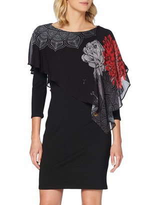 Desigual Women's Alexandre Woman Knitted 3/4 Sleeve Dress